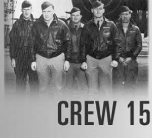 310th BG, CREW 15, Sessler 1st on Left. 1942