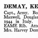 447th DeMay, Unknown LOSS