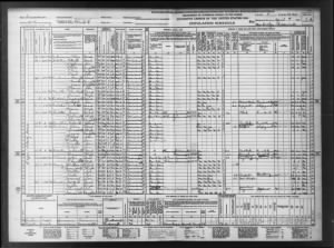 1940 census Slidell, LA