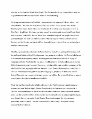 Unger Memoirs 718th FA › Page 22 - Fold3.com