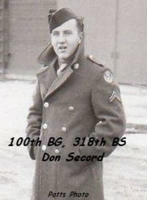 100th Bomb Group B-17's Don Secord