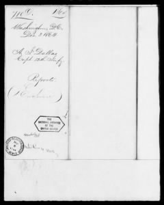 Letters Received by the Adjutant General, 1861-1870