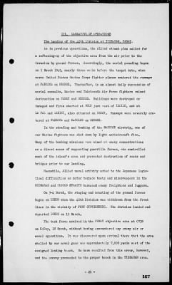 Rep of operations in the invasions & occupation of the Philippines, 1/29/45-8/20/45 › Page 167 - Fold3.com