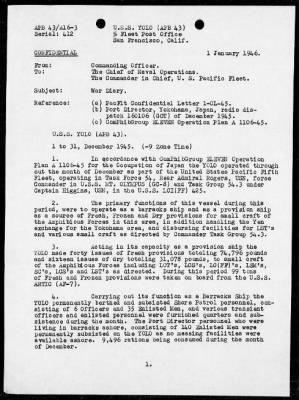 War Diary, 11/1/45 to 12/31/45 › Page 2 - Fold3.com