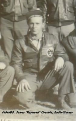 T/Sgt J Raymond Orechia, R/G Lost on 15 May, 1944, Crash on runway, all KIA