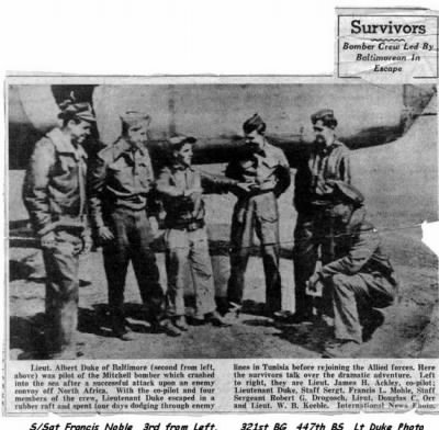 Baltimore Sun; Description of the EVENT by the Survivors of 20 Mar.1944 - Fold3.com
