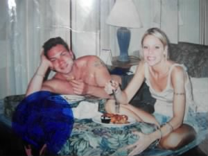 david and his sister, carolann 1997