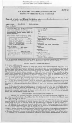 American Zone: Report of Selected Bank Statistics, March 1947 › Page 2 - Fold3.com