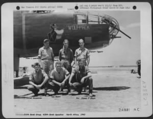 310th Bomb Group Men who shot-down enemy Aircraft Pvt. James Black got an ME-109