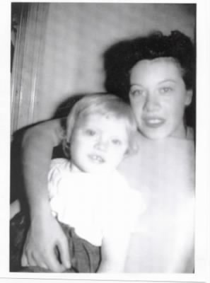 Mom and me (Norma Jean)