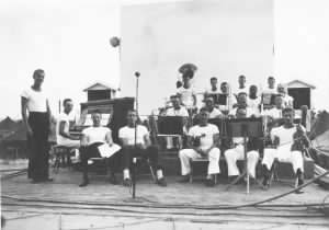 ACORN 44's swing band on Okinawa 1945