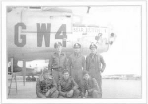 "Pvt. ""JACK"" Loy is in this picture, Tail-Gunner in B-25's of 310th BG, 380th BS"
