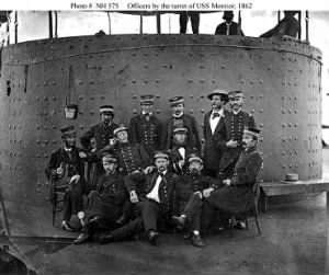 USS Monitor Officers