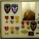 Robert P. Budd and his WWII medals