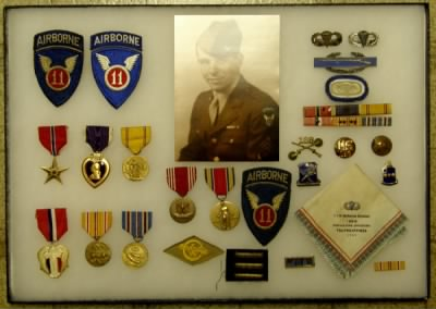 Robert P. Budd and his WWII medals - Fold3.com