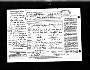 John Wilfred Montgomery & Mabel Larson Ontario, Canada Marriages, 1801-1926 Record