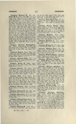 Part II - Complete Alphabetical List of Commissioned Officers of the Army › Page 429 - Fold3.com