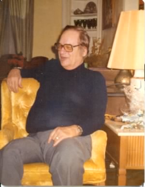 Victor William (Bill) Gagnon, home with family and friends in Lubbock, Texas, ca. 1976.