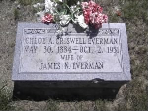 Chloe A(Criswell)Everman