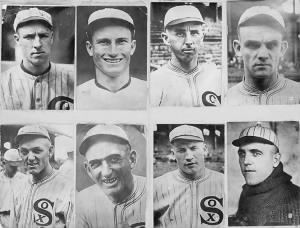 The 8 members of the Black Sox