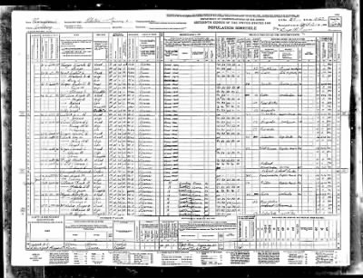 1940 Census, Curtis Cooper - Fold3.com