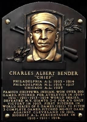 "Charles Albert ""Chief"" Bender"