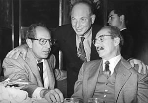 The Marx Brothers: Groucho, Harpo & Zeppo Marx, ca. 1955