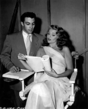 Rita Hayworth and her brother Eduardo
