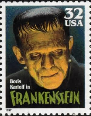 Boris Karloff Stamp