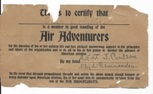 Flying Corps Certificate