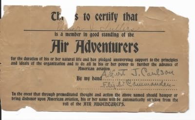 Flying Corps Certificate - Fold3.com