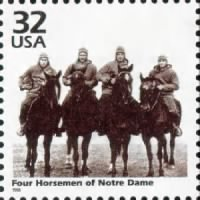 The Four Horsemen of Notre Dame