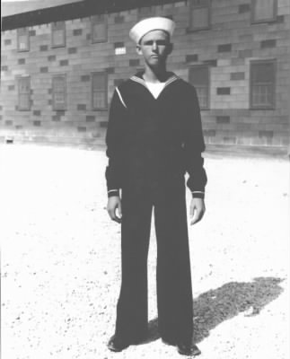Clifton Carpenter in Navy Uniform - 1942 - Fold3.com