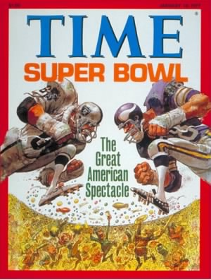 Super Bowl XI Raiders-Vikings