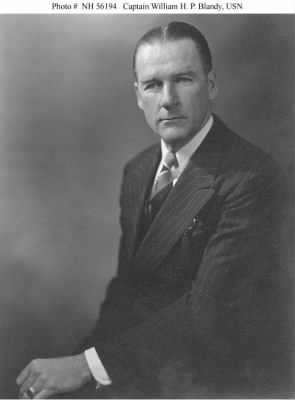 Captain William H. P. Blandy, USN