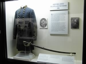 Uniform coat of C.S.A. General John Bell Hood, The Museum of the Confederacy, Richmond, VA.jpg