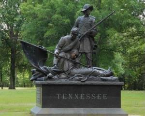 Tennessee Monument at Shiloh