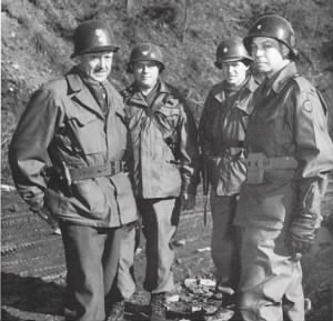 Paul Adams (right) in Korea, 1951.jpg