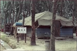 Aid Station, Quan Loi, RVN, 1st Battalion, 28th Infantry Regiment, 1st Infantry Division 1968