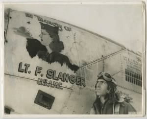 2LT Francis Slanger Airplane Dedication