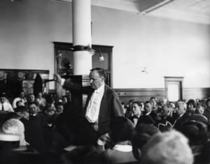Clarence Darrow during the Leopold and Loeb trial