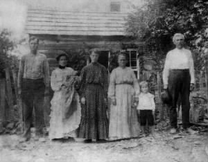 NELSON jamesnelsonfamily_edited Joe Daniel so Samuel, Lizzie, Susan, Polly, Buddie & James Bud Nelson.jpg