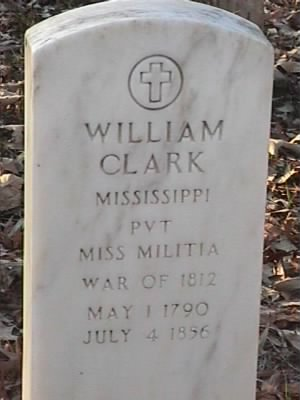 William Clark Headstone.jpg