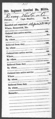 Thomas Conway Doxey Civil War Enrollment document 001.jpg
