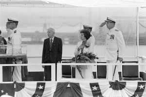 Rickovers at commissioning of USS Rickover, 1984.jpeg