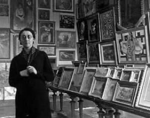 Rose Valland with paintings.jpg