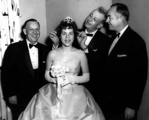 Left to right Leo Van Herpe, Princess Maureen Stans, Sen. Everett M. Dirksen, President Eisenhower's Director of the Budget Maurice Stans of Chicago.jpg