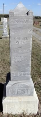Samuel West headstone.jpg