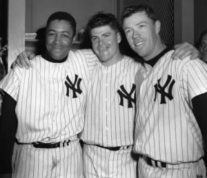 Elston Howard, Bob Turley & Gil McDougald ...jpg