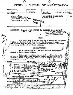 Manning C Clements 1964 Investigates Oswald Diary Leak.JPG